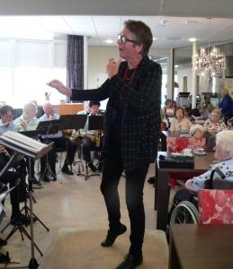 Ali Groen voor het Dagorkest